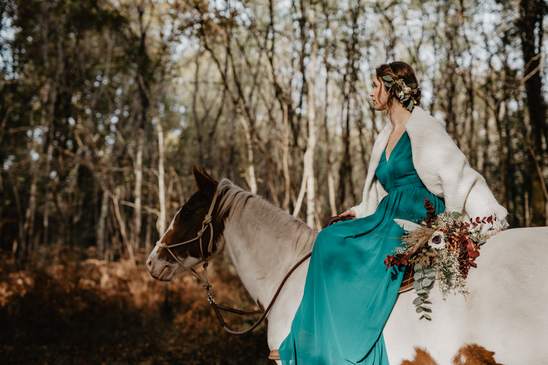Shooting éditorial – Western Wedding