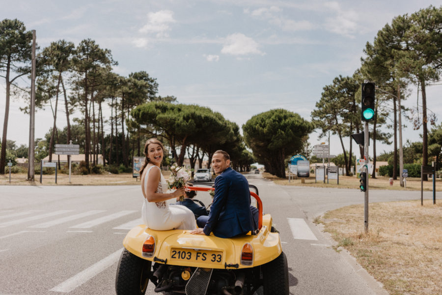 Photos l Wedding in the Medoc Vineyards