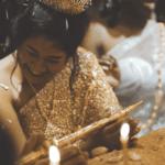 Cérémonie traditionnelle Cambodgienne de mariage